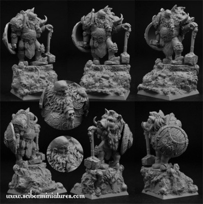 Ogre Chief - Scibor Miniatures