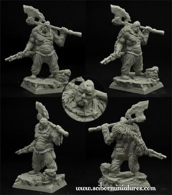 Ogre Cossack Hryhorij - Scibor Miniatures