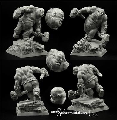 Ogre Cossack Vasyl - Scibor Miniatures