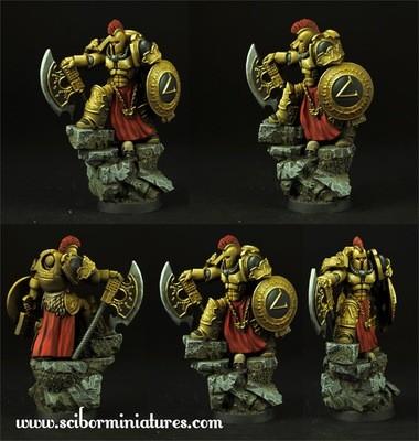 SF Spartan General - Scibor Miniatures
