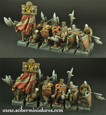 Town Guard 12 miniatures - Scibor Miniatures