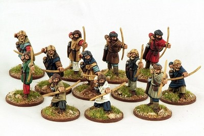 Viking Archers (12) Levy 1 pt - SAGA - Wikinger
