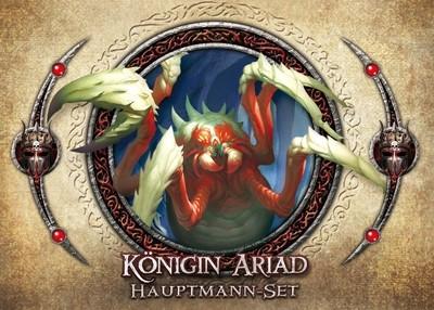 Descent 2. Edition: Königin Ariad Hauptmann-Set