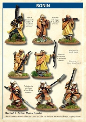 Sohei Monk Buntai - Ronin - North Star Figures