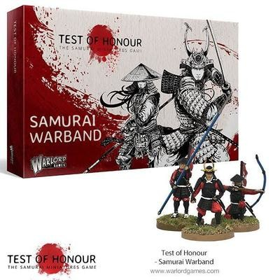 Test of Honour Samurai Warband - Warlord Games
