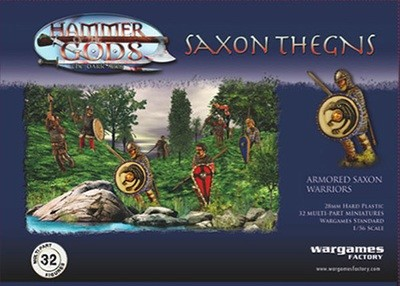 Saxon Thegns - Hammer of the Gods - Wargames Factory