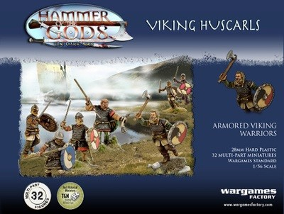 Viking Huscarls - Hammer of the Gods - Wargames Factory