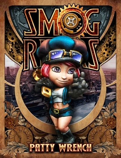 Patty Wrench - Smog Riders - Scale 75