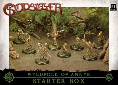 Wyldfolk Of Annyr Starter Box - Godslayer