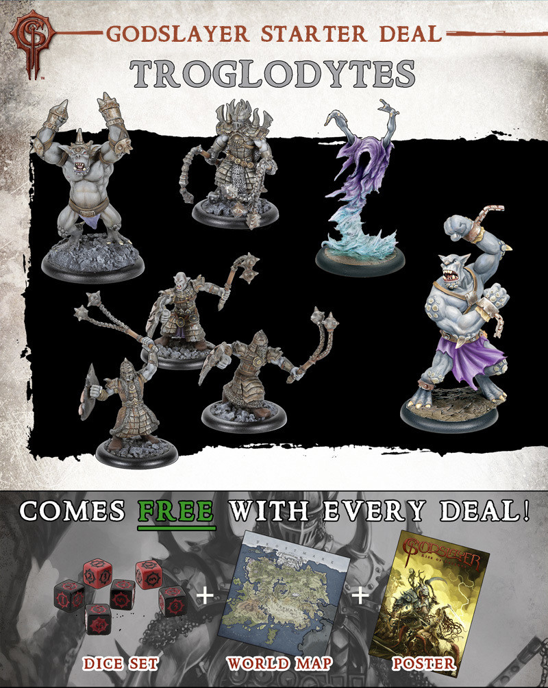 Troglodytes Starter Deal - Godslayer