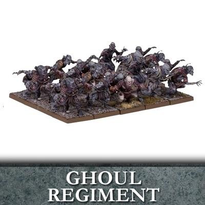 Undead Ghoul Regiment - Untote - Kings of War - Mantic Games