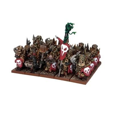Abyssal Dwarf Immortal Guard Regiment - Abyssal Dwarfs - Kings of War - Mantic Games