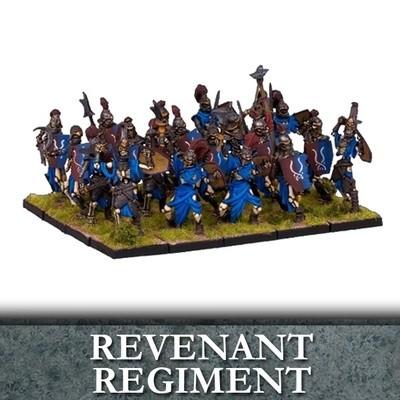 Undead Revenant Regiment - Untote - Kings of War - Mantic Games