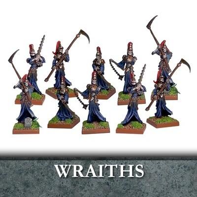 Undead Wraiths - Untote - Kings of War - Mantic Games