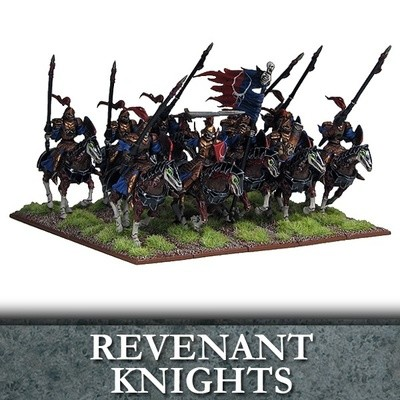 Undead Revenant Knights - Untote - Kings of War - Mantic Games
