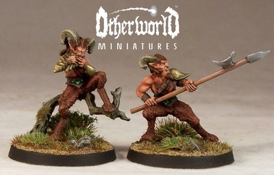 WE9b – Satyr II - Otherworld Miniatures