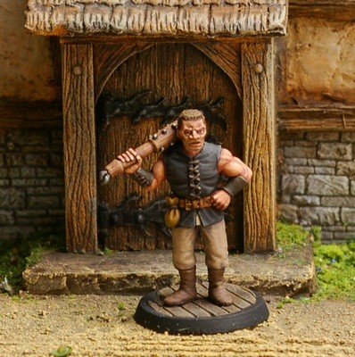 NPCT7 – Tavern Bouncer - Otherworld Miniatures