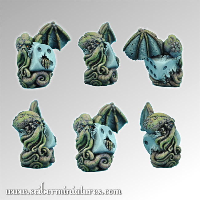 Cthulhu Die #2 - Scibor Miniatures