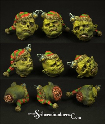 Elves Bulbs set (3 Stk.) - Scibor Miniatures