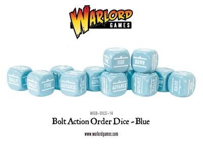 Befehlswürfel - Order Dice - Blau - Bolt Action
