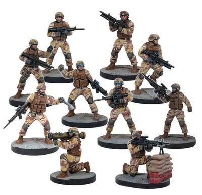 Mars Attacks - US Soldiers (10 Figuren)