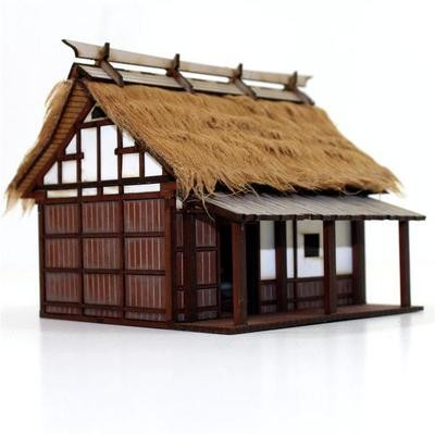 Peasant Smallholder's Dwelling - Shogunate Japan - Hütte bemalt - 4Ground
