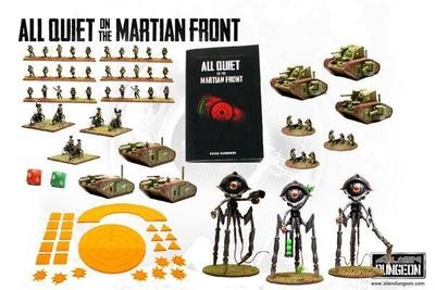 All Quiet on the Martian Front - Starter Game - Martian Front - Alien Dungeon