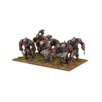 Ogre Warriors - Oger - Kings of War - Mantic Games