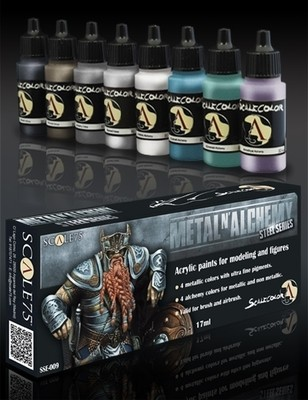 Metal N'Alchemy Steel Series Paint Set - Stahl-Serie - Scale75