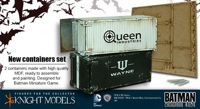 Containers - Batman Miniature Game