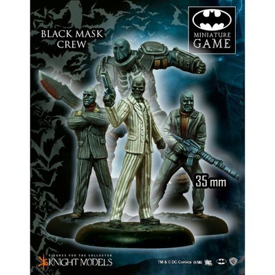 Black Mask's Crew - Batman Miniature Game