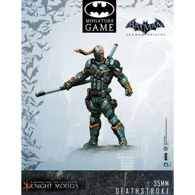 Deathstroke Arkham Origins - Batman Miniature Game
