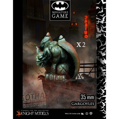 Gargoyles Set 1 - Batman Miniature Game