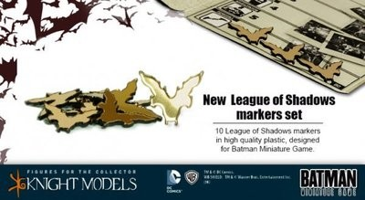 League Of Shadows Markers - Batman Miniature Game