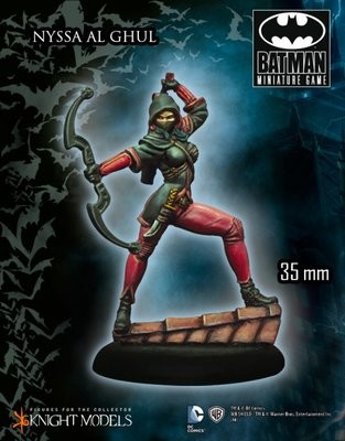 Nyssa Al Ghul - Batman Miniature Game