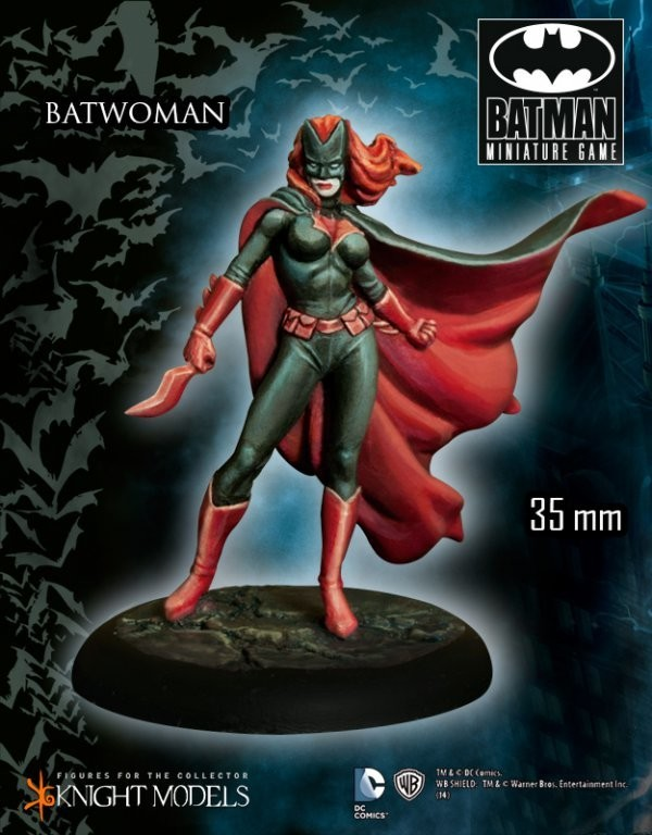 Batwoman - Batman Miniature Game
