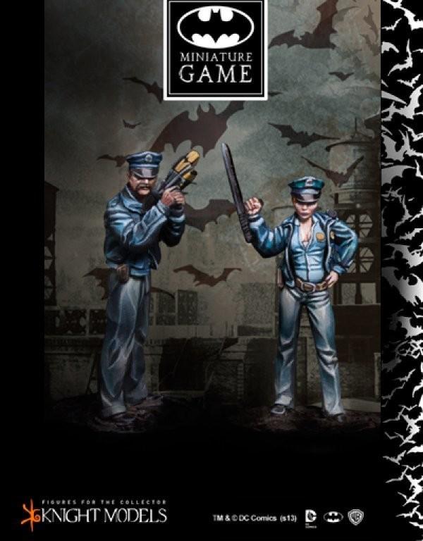 Gotham Police Set 2 - Batman Miniature Game