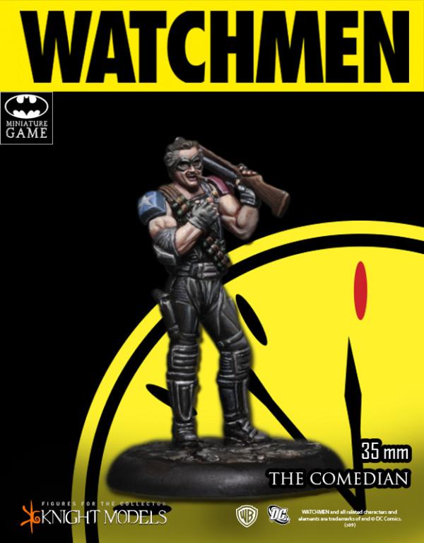 The Comedian - Watchmen - Batman Miniature Game