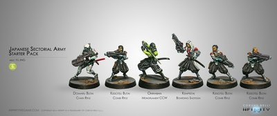 Japanese Sectorial Army Starter Pack - Yu Jing - Infinity