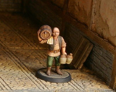 NPCT9 – Cellarman - Otherworld Miniatures