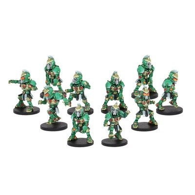 DreadBall Koeputki Kolossals Zees Team (10 Figuren)