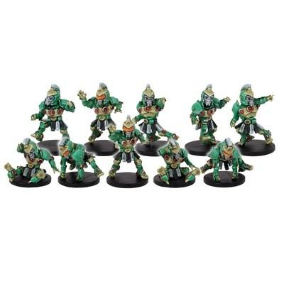 DreadBall Koeputki Kolossals Team Booster (10 Figuren)