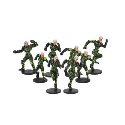 DreadBall Shan-Meeg Starhawks Asterian Team (8 Figuren)