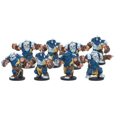 DreadBall Midgard Delvers Forge Father Team (8 Figuren)