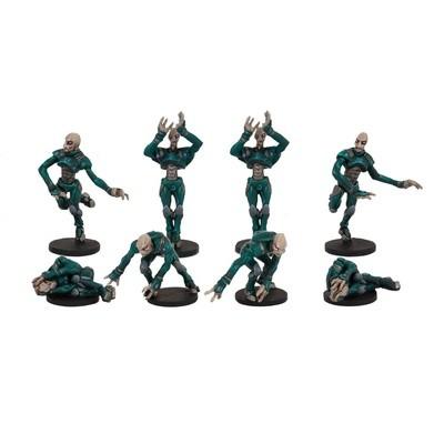 DreadBall Pelgar Mystics Judwan Team Booster (8 Figuren)
