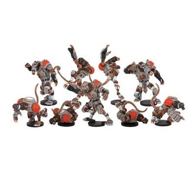 DreadBall Skittersneak Stealers Veer-myn Team Booster (9 Figuren)