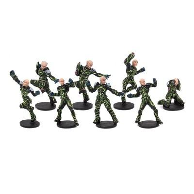 DreadBall Shan-Meeg Starhawks Team Booster (8 Figuren)