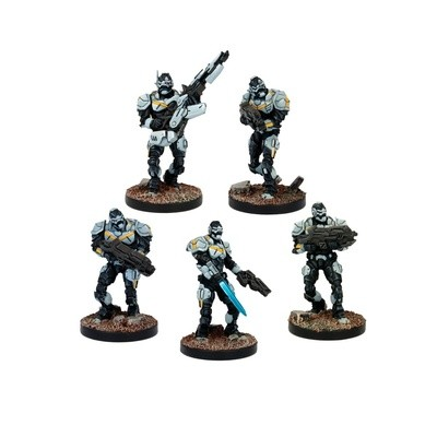 Enforcer Troops Booster - Deadzone - Mantic Games