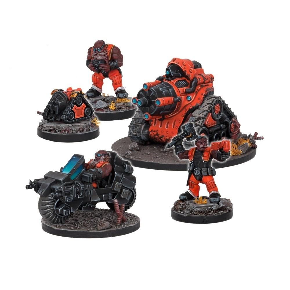 Forge Father Forge Support Booster - Deadzone - Mantic Games