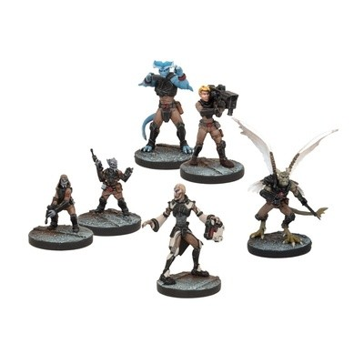 Rebs Support Booster - Deadzone - Mantic Games
